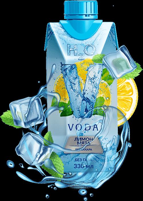 Voda Лимон-мята 330 мл